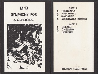 maurizio bianchi intervista symphony for a genocide cassette tape