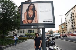 irina shayk intimissimi campagna milano