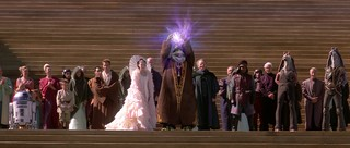 Naboo celebration scene in 'The Phantom Menace'