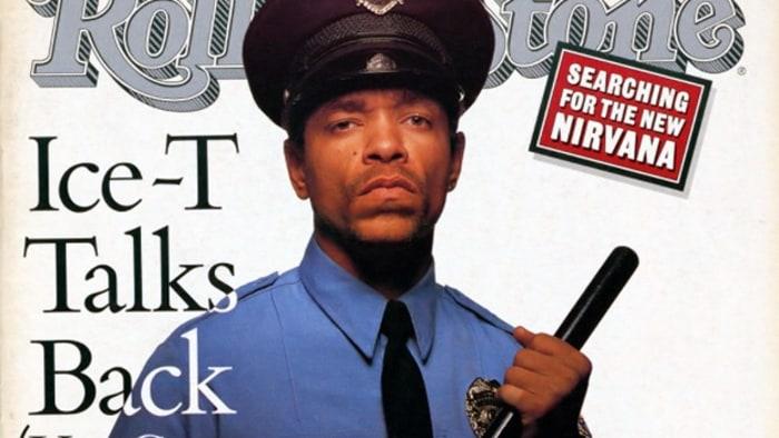 Ice T Power Album Cover Back