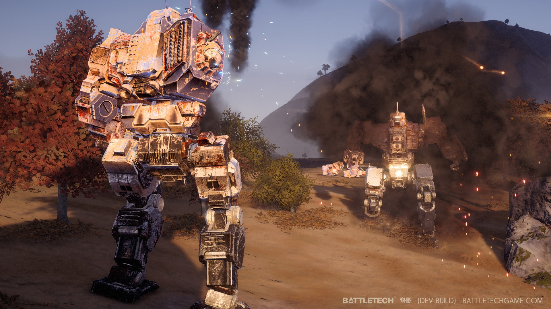 battletech how to bring out new mech
