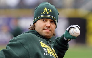 Nick Swisher became the face and star of Oakland's Moneyball class. Photo by Tom Szczerbowski-USA TODAY Sports