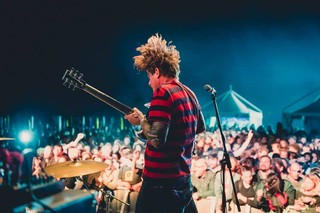 thee oh sees john dwyer live 2017 beaches brew