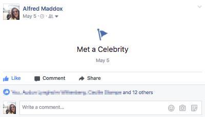 14 lajkova? Zato što je možda sreo nekog nepoznatog poznatog?!