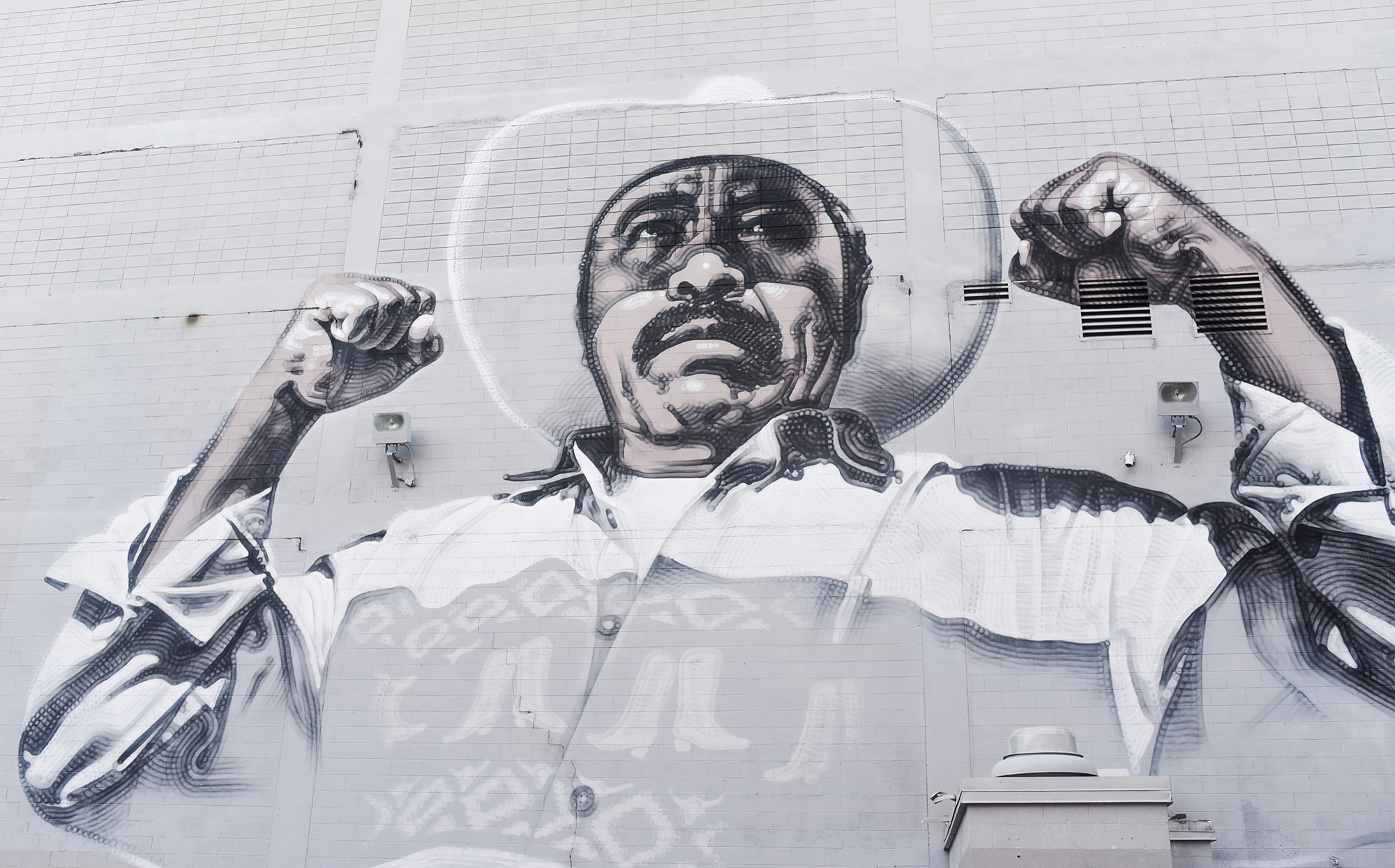 The chicano artists transcending the us mexico border vice for Chicano mural movement
