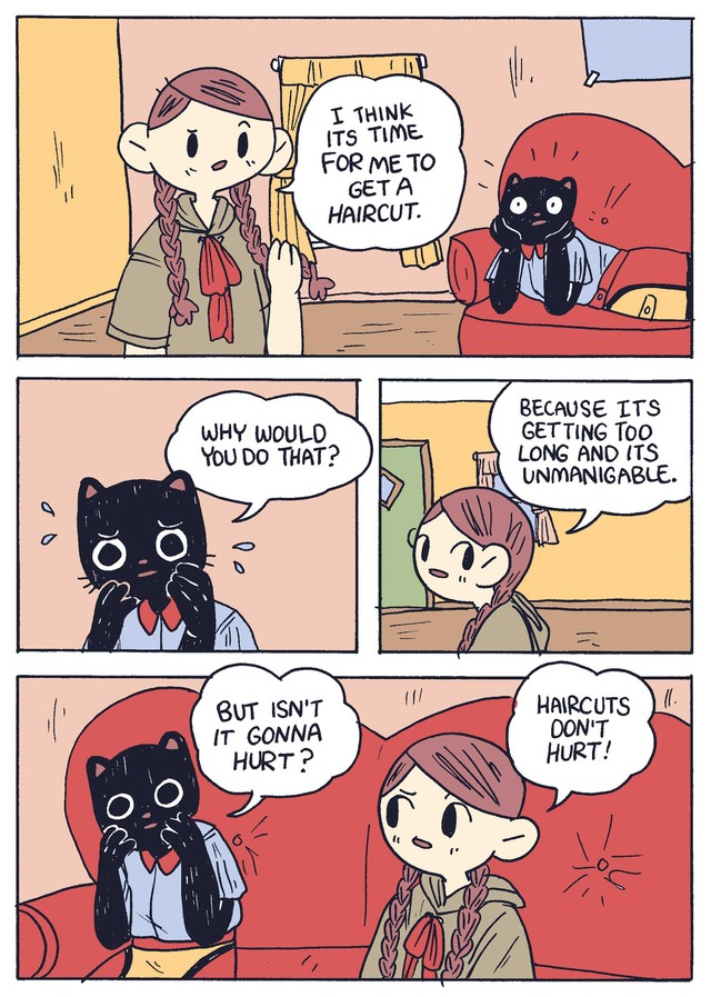 Catboy S Haircut Today S Comic By Benji Nate