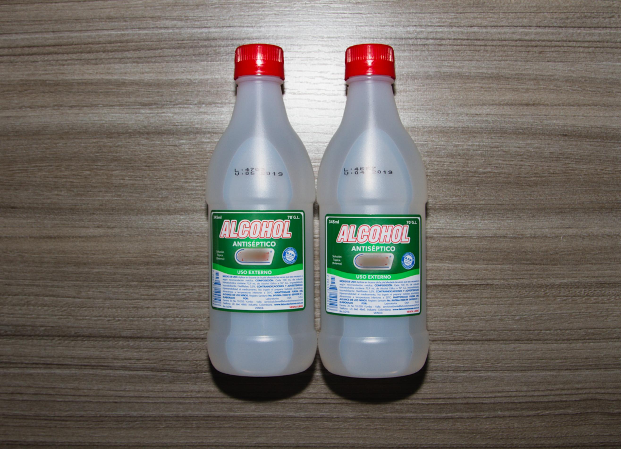 Alcohol para Matar Las Chinches