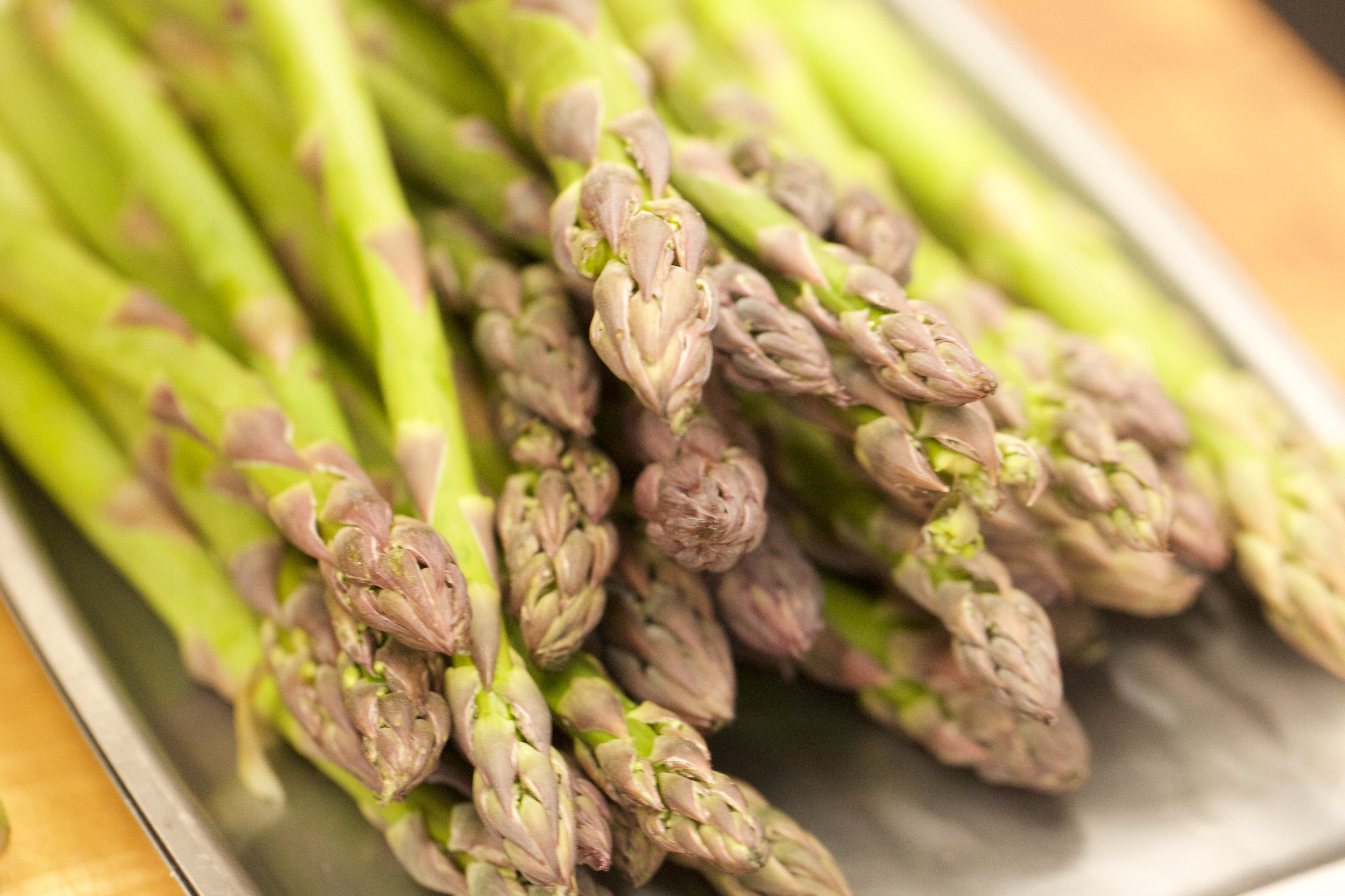 Today, The Greenmarket Has Inspired Hedendal To Roast The Asparagus In A  Hot Oven Till Just The Far Side Of Tender