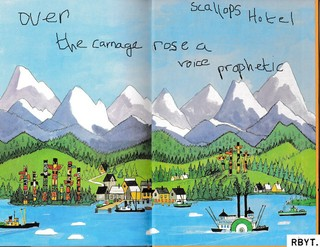 scallops hotel over the carnage rose a voice prophetic recensione review copertina cover album streaming mp3 2017