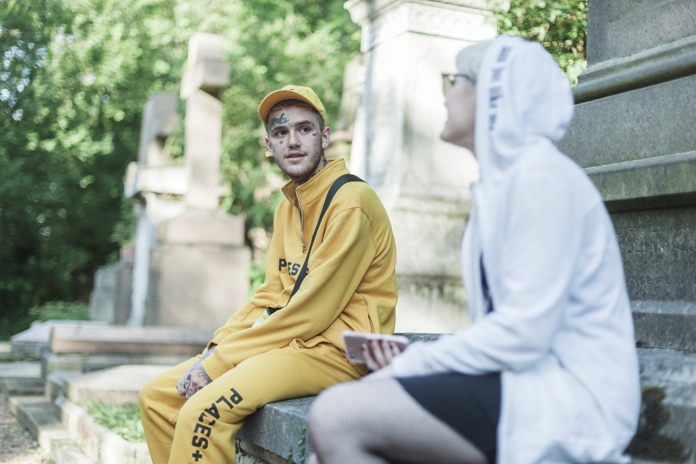A First Date In A Cemetery With Lil Peep Noisey
