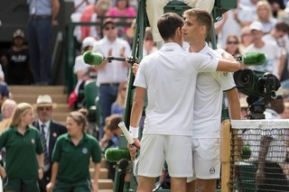 Klizan retires at Wimbledon