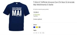 shop online movimento 5 stelle