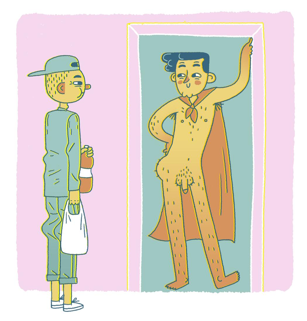 Al Entregar Una Pizza Sale Una Chica Desnuda entregar comida rápida: swingers, drogas y poca ropa - vice