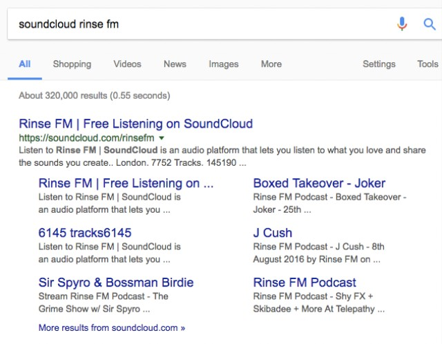 Rinse FM's Soundcloud Page Reportedly Disappeared Yesterday - VICE