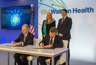 firma accordo dati sanitari IBM