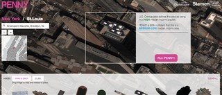 Roof with several boats. Image: © 2017 DigitalGlobe
