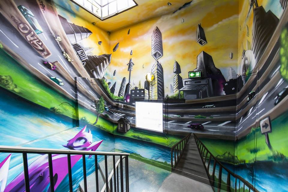 100 Street Artists Painted A Paris Dorm And The Results