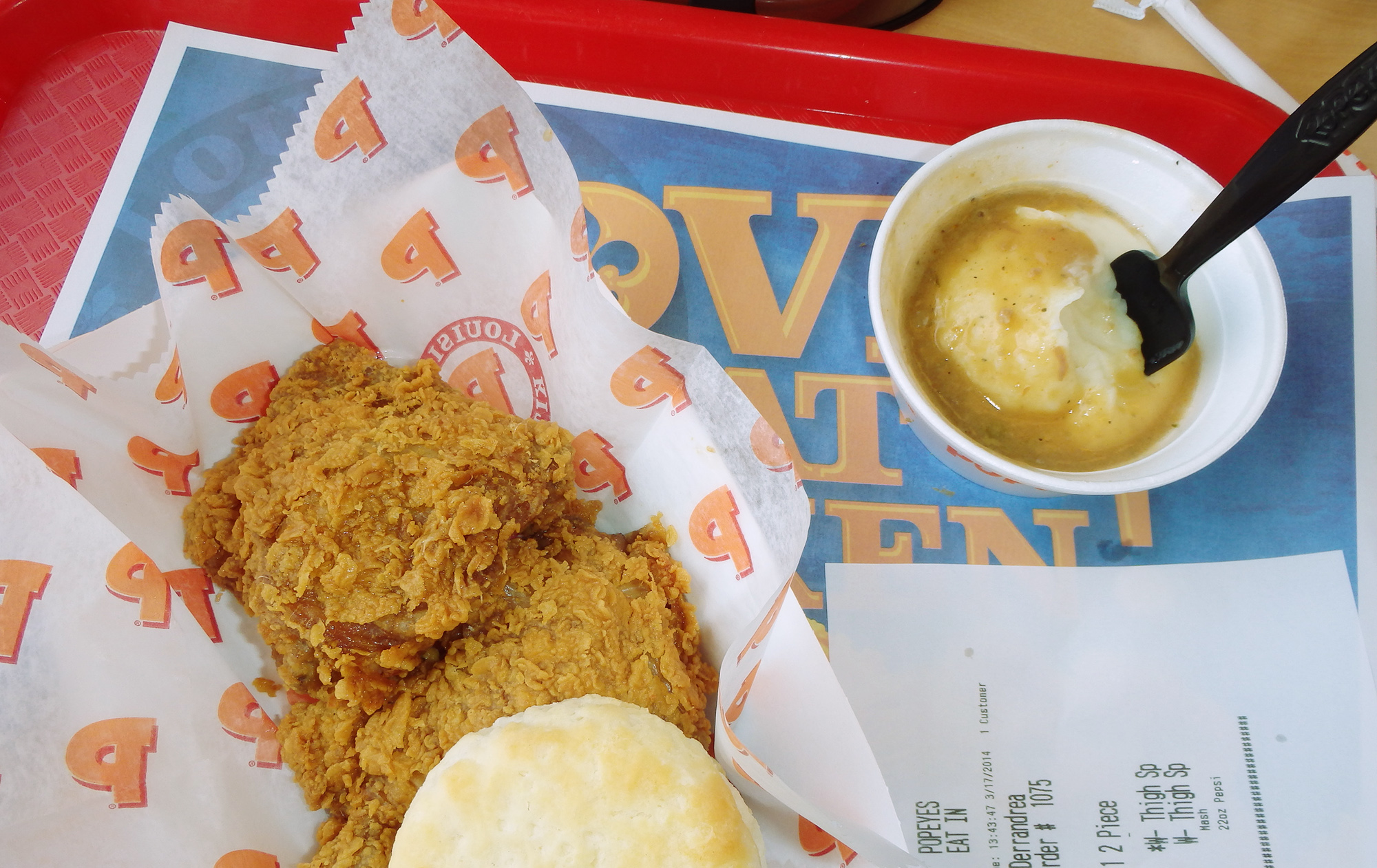 Popeyes Louisiana Kitchen Lady Why Popeyes Is Always Better In New Orleans  Munchies