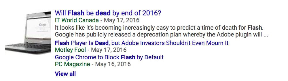 adobe flash stop 2020