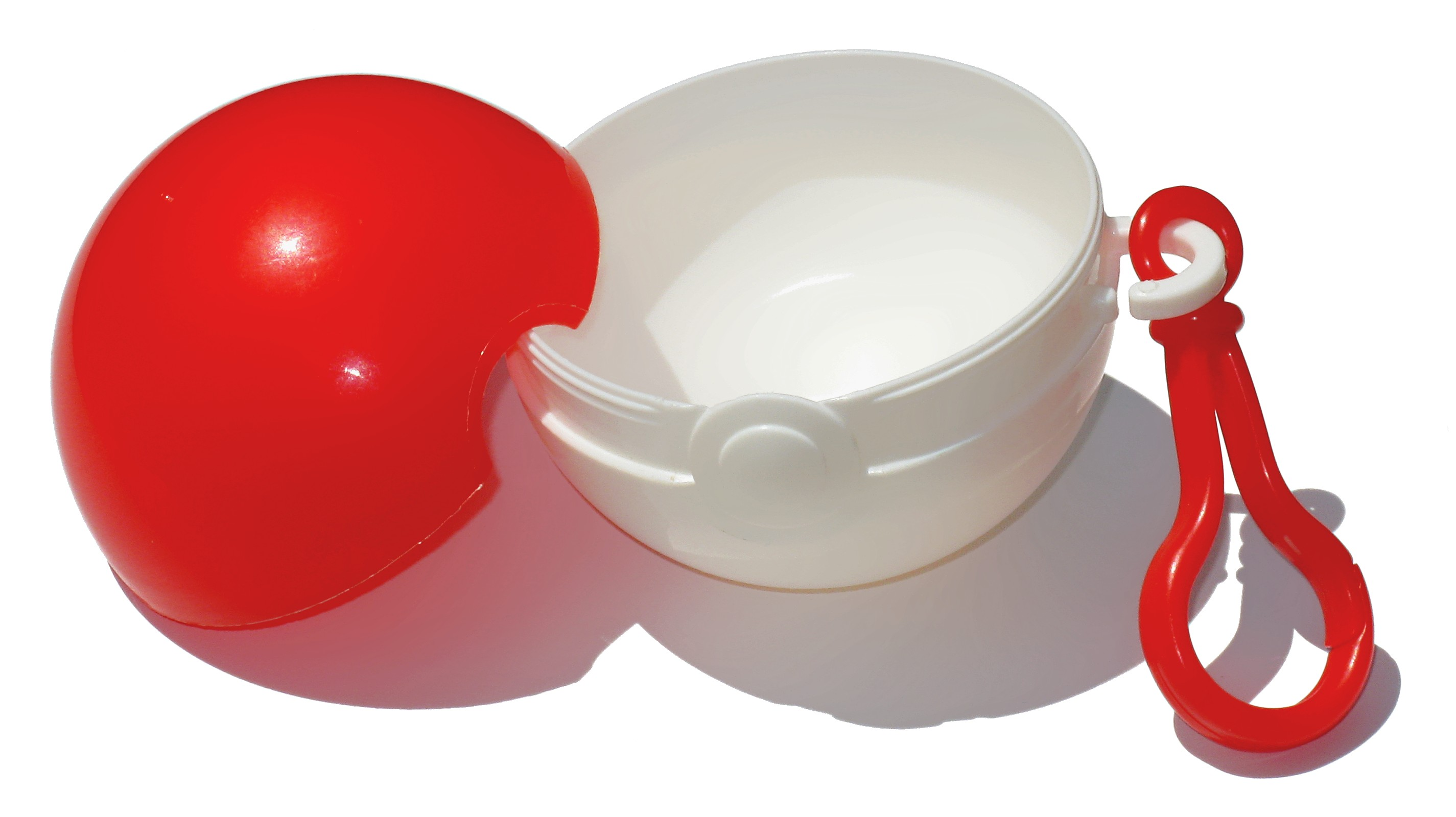 The Pokéball containers that were recalled. Photo via Wikimedia Commons.