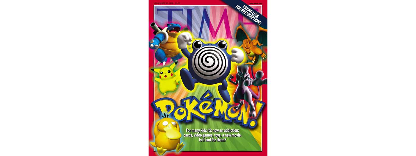The 1999 TIME cover announcing Pokémania.