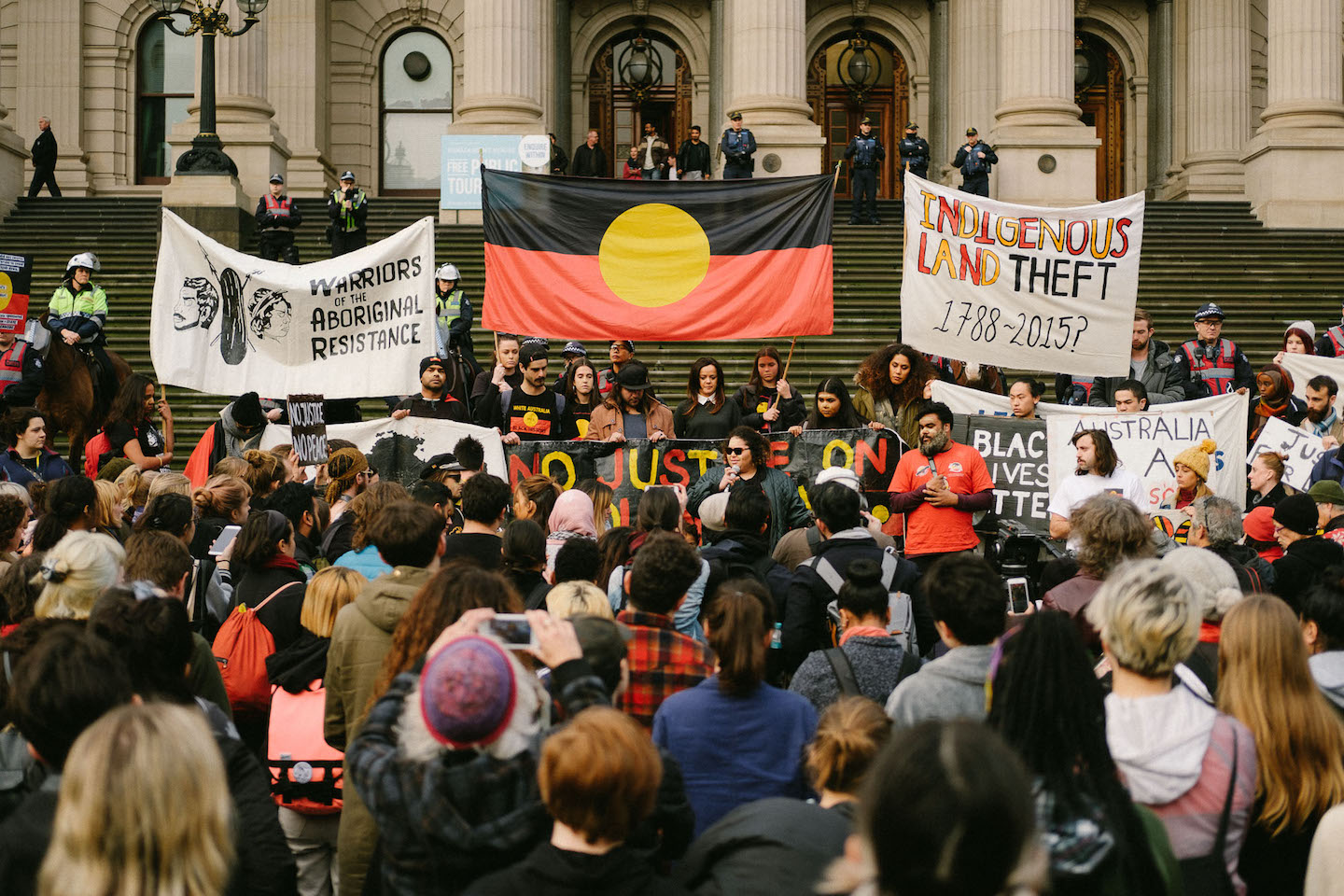melbourne stops and mourns for aboriginal teen elijah doughty vice