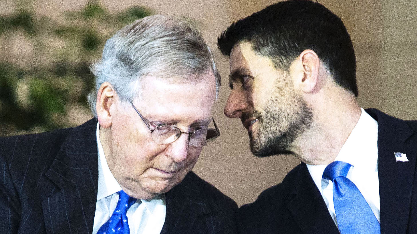 12 Photos of Mitch McConnell Looking Sad