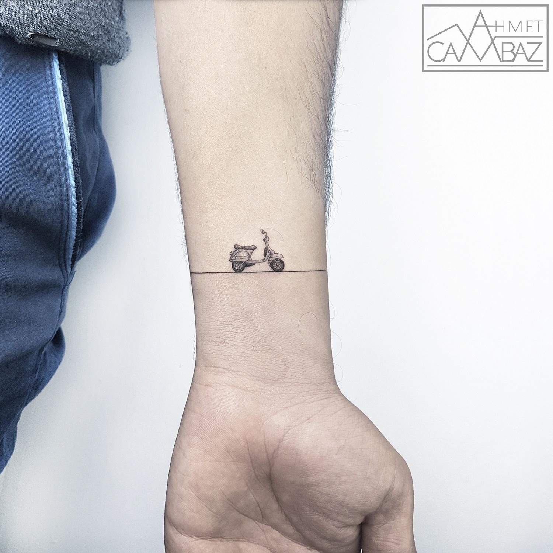 Tatuaggi Linee Geometriche
