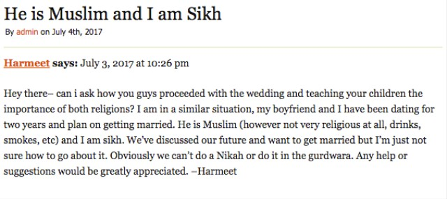 Love Jihad: Sikh Parents' Fear of Their Children Dating Muslims - VICE