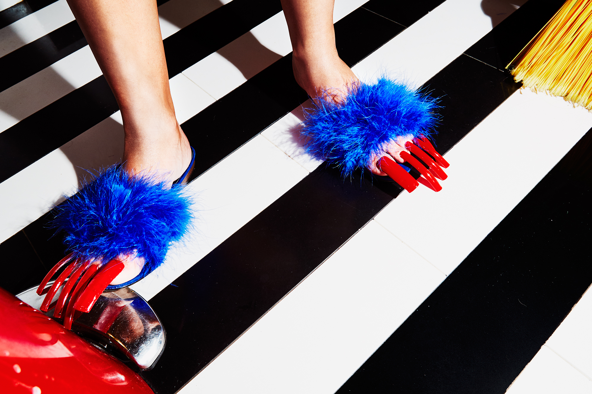 These Photos of Long Fake Toenails Are More Than Just Fetish ...
