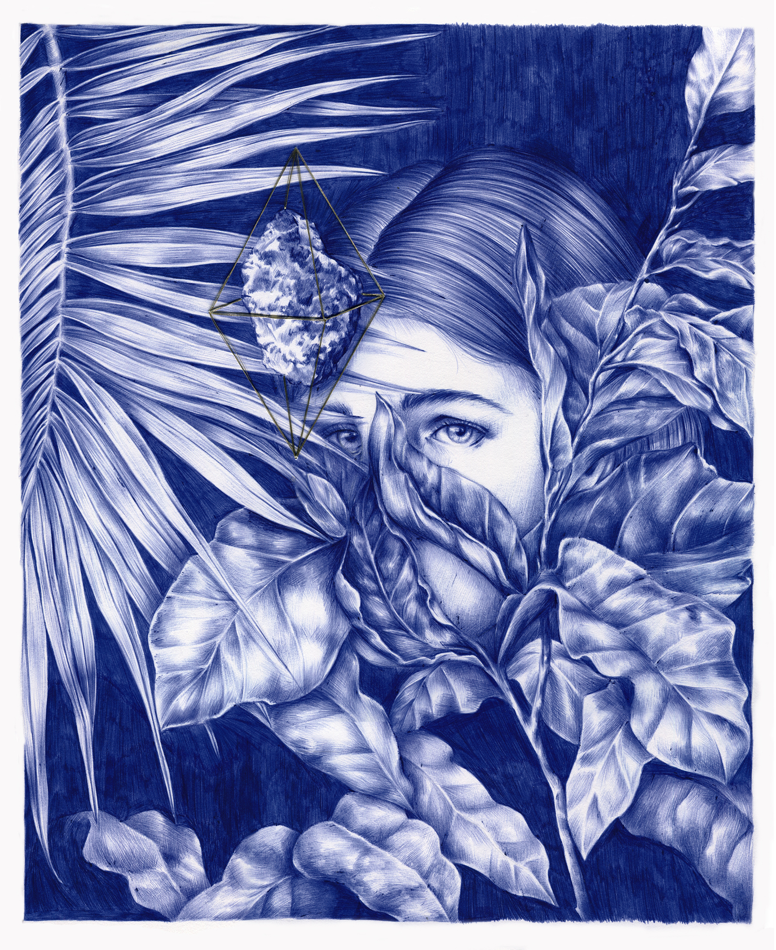 these gorgeous drawings are 100 ballpoint pen creators