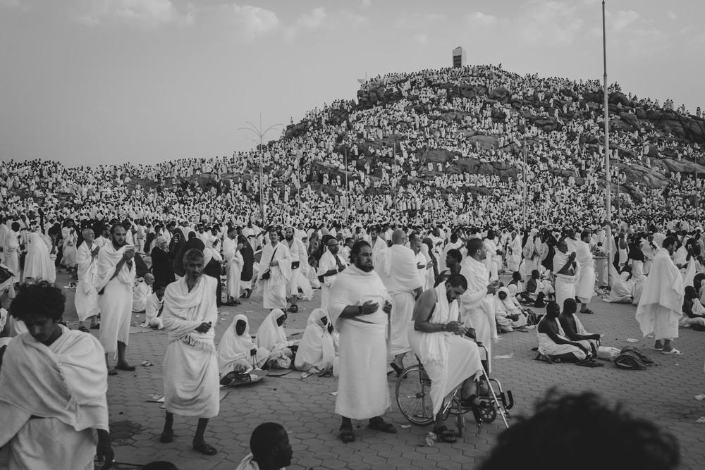 Image result for sujud di padang arafah