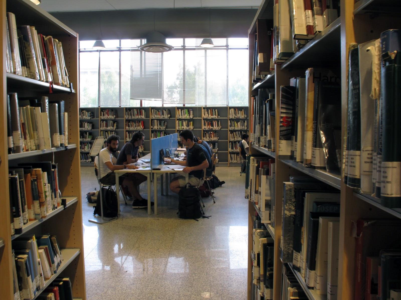 ho passato 24 ore in una biblioteca universitaria di