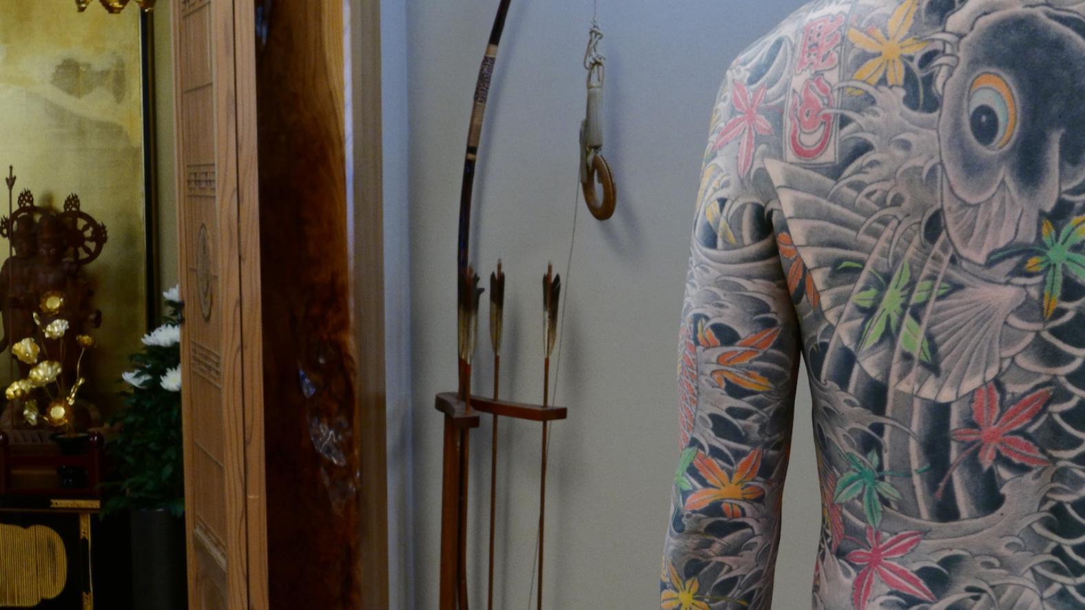 Japansk tatuering kön