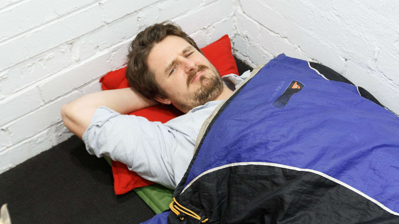Sleeping straight jock gets felt up