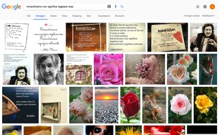 romanticismo non significa regalare rose alda merini