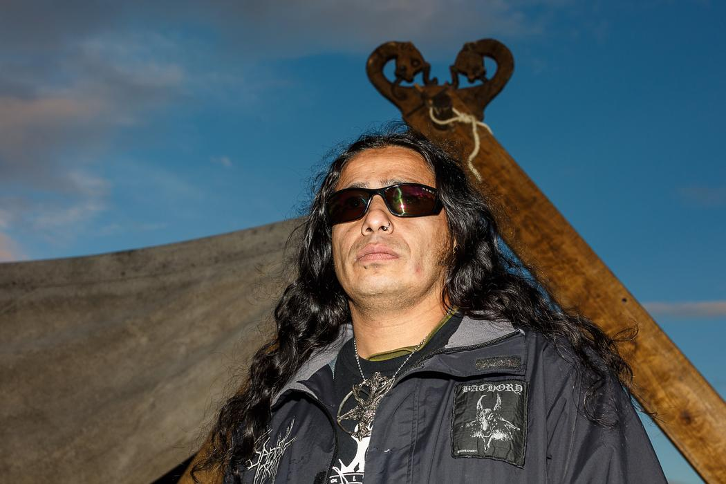 We hung out with metal pagans at a viking cemetery vice - Hector santos ...