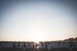 stabilimenti mare ostia tramonto cabine lestraniere