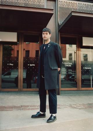 Andrew, 23, Fashion PR at Starworks Group at London Fashion Week