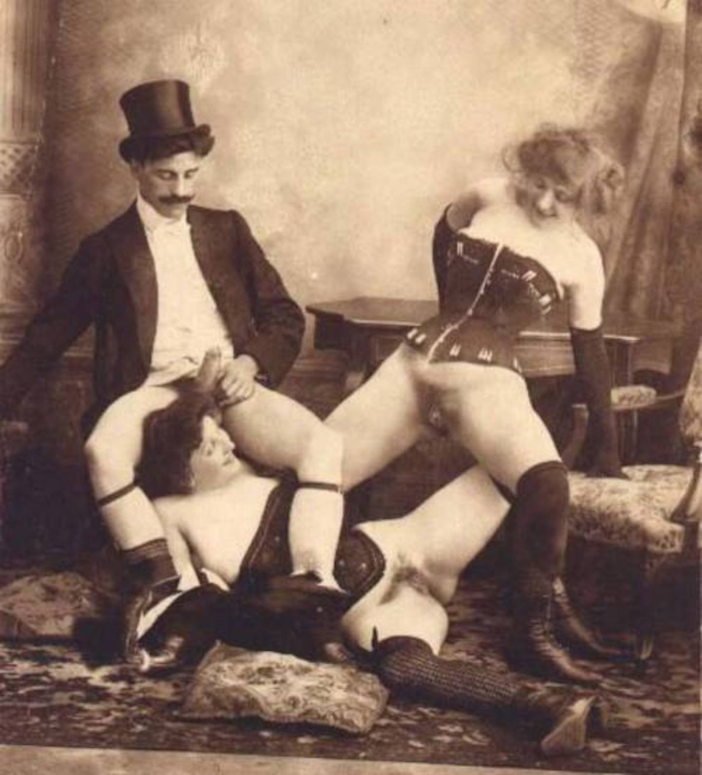 Victorian group sex pics