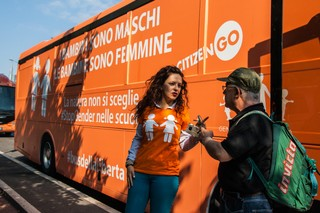 bus della libertà gender milano