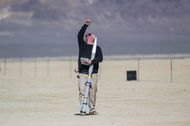 Inside the Most Exclusive High-Powered Rocketry Event in