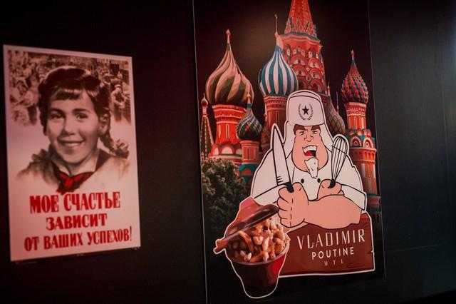Inside Vladimir Poutine, Montreal's Dictator-Themed