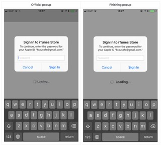 The iPhone's Constant Password Popups Are a Hacker's Dream