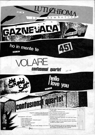 italian records luti chroma gaznevada 451 confusional quartet stupid set
