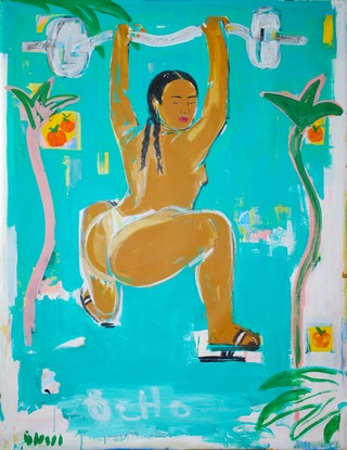 Monica Kim Garza illustrations of nude women of colour