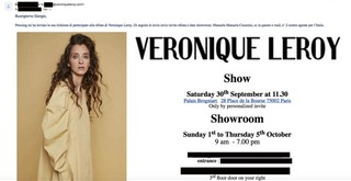 Veronique Leroy Paris
