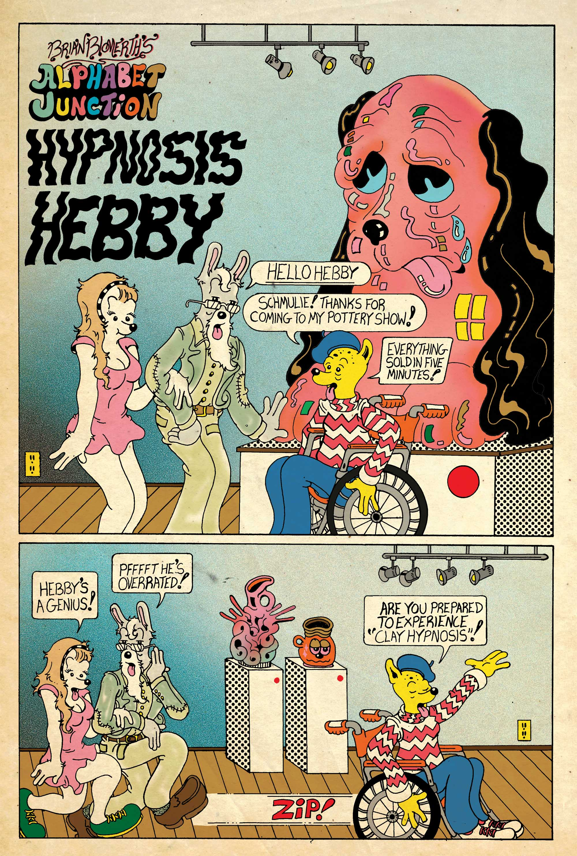 Selling Fine Art Using Hypnosis Today S Comic By Brian
