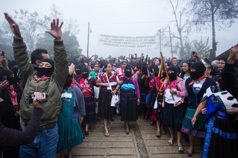 Territorio Gira Candidata La México El Zapatista Por De I4x56nB