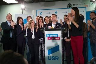 Liderii USR în seara alegerilor din decembrie 2016